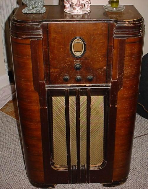 1936 Philco Console